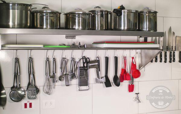 Forno Rational à disposição para a locação da cozinha.